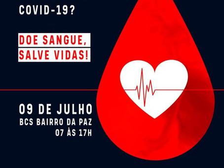 Base Comunitária convida população para doar sangue