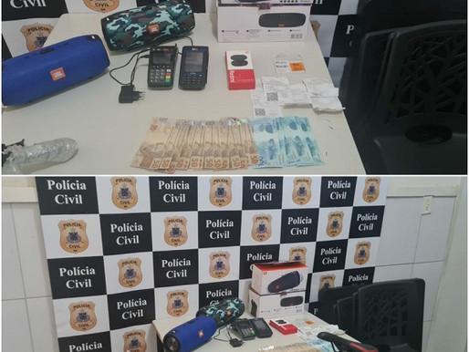 Policia Civil de Juazeiro desarticula grupo por fraude com cartões de crédito e moeda falsa