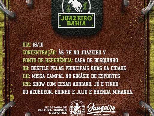 IX Festa do Vaqueiro de Juazeiro será realizada neste sábado (16)