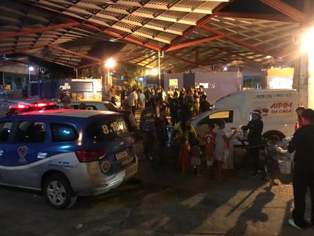 Cerca de 1,8 mil donativos doados à moradores de rua