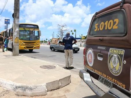 Roubos a ônibus têm o menor número dos últimos 6 anos