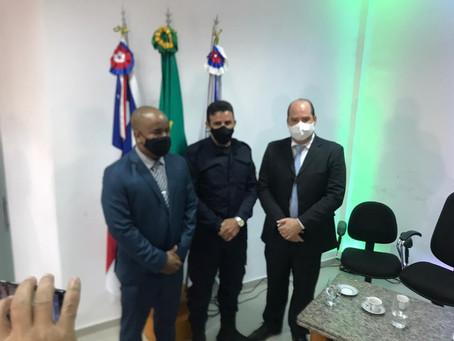 Renato Brandão, participa de sessão extraordinária, para aprovação de Inspetor Chefe da Guarda Civil