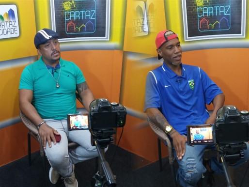 Em Cartaz - O atleta profissional de boxe, Ykaro David e seu professor Sebastian Torres