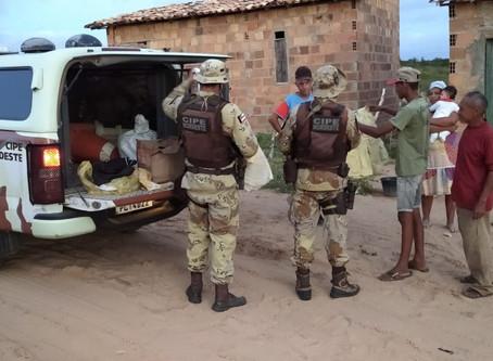 Cipe Nordeste entrega agasalhos em municípios baianos