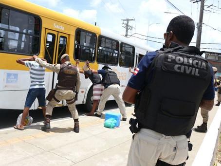 Com frota normalizada, roubos a ônibus diminuem 49,5%