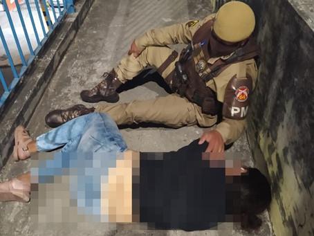 Policiais da 64ª CIPM impedem suicídio em Feira