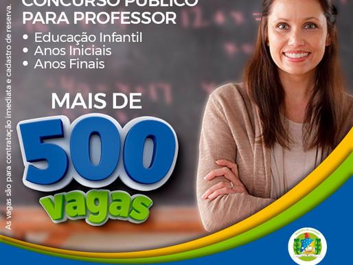 Juazeiro: Concurso na área de educação da Prefeitura de continua com inscrições abertas