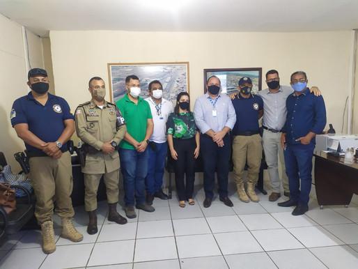 PMJ e Polícia Militar discutem plano de ação para melhorar a segurança no Mercado do Produtor