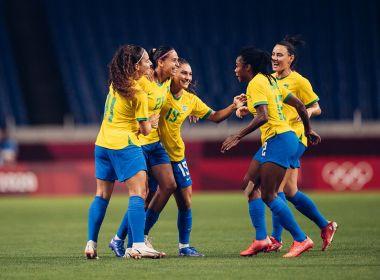 Futebol feminino: Brasil bate a Zâmbia e avança às quartas de final