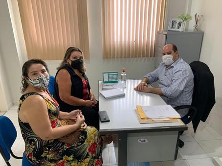 Renato Brandão recebe representantes da ATEPAAJ para discutir questões previdenciárias