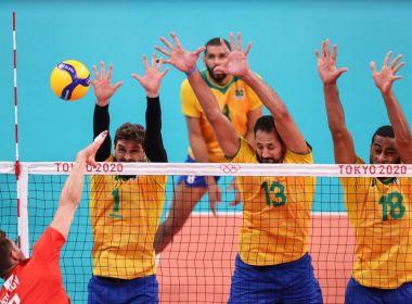 Brasil perde no vôlei e não vai à final das Olimpíadas pela 1ª vez desde 2000