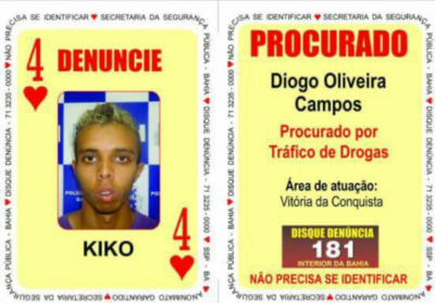 Autor de 100 homicídios, 4 de Copas é capturado em SP
