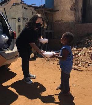 Base reforça apoio a moradores na segunda onda da pandemia