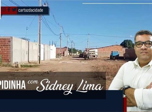 """""""Rapidinha"""" com Sidney Lima: Descaso do bairro Sol Levante e  do terminal de ônibus da cidade."""