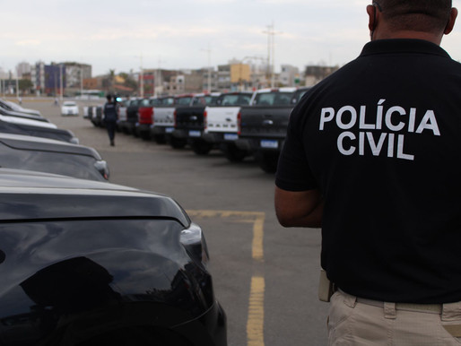 Quarenta viaturas são entregues pelo Governo do Estado à Polícia Civil