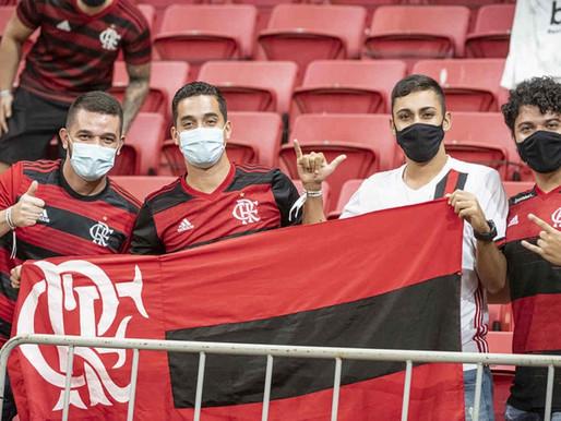 Flamengo bate o martelo por Brasília com até 30% de público na Libertadores