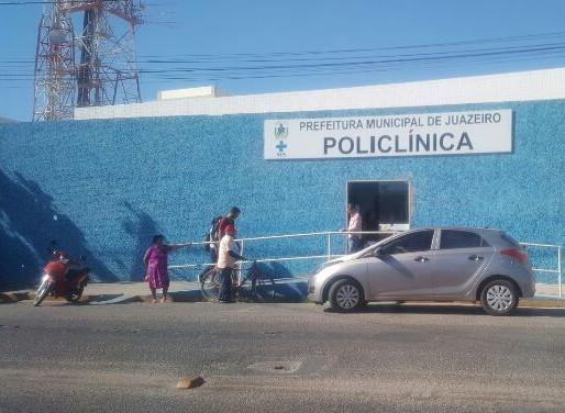 SESAU informa a mudança de endereço da Policlínica Municipal em Juazeiro.