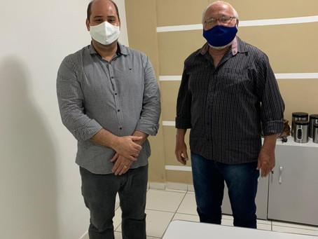 Juazeiro: Vereador Renato Brandão visita Secretário da Semaurb