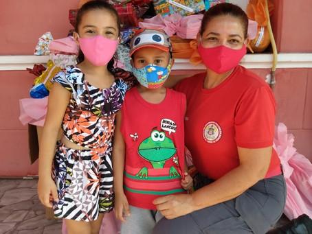 """8° GBM realiza o Projeto Solidário """"Adote uma Criança"""""""