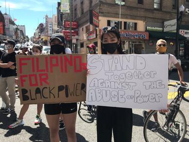 BLACK LIVES MATTER: FILIPINOS GIVE BACK