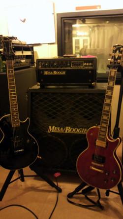 Yamane's guitars and Mesa Boogie
