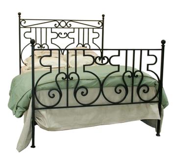 Filigree Iron Bed
