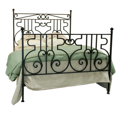 Filigree Iron Bed