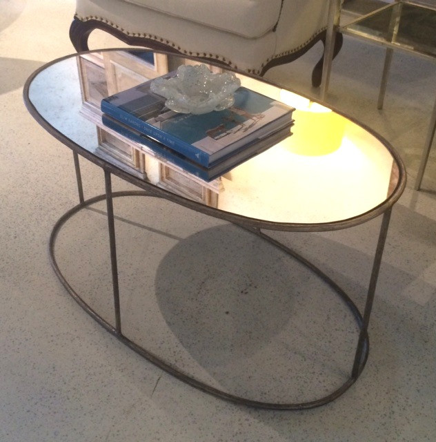 Oval Twig Cocktail Table