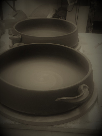 Oven dishes drying out!