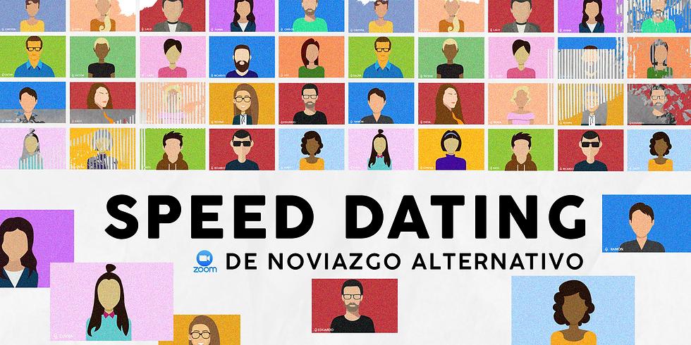 ZOOM SPEED DATING de NOVIAZGO ALTERNATIVO