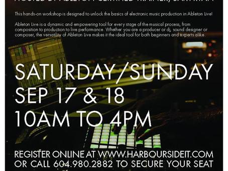 Ableton 101 Weekend Workshop