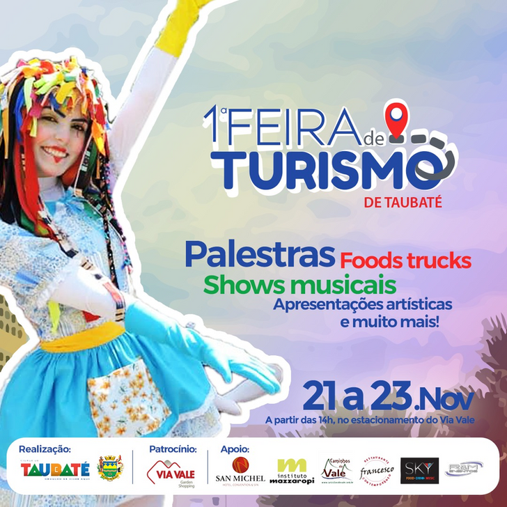 Taubaté abraça o turismo no Vale do Paraíba
