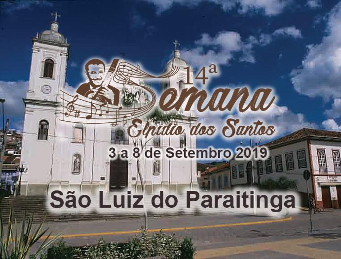 14ª Semana Elpídio dos Santos - de 3 a 8 de setembro 2019
