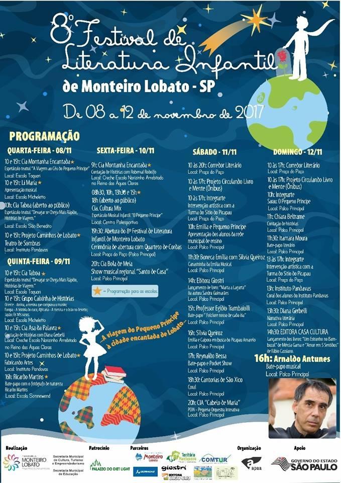 8º Festival de Literatura Infantil de Monteiro Lobato