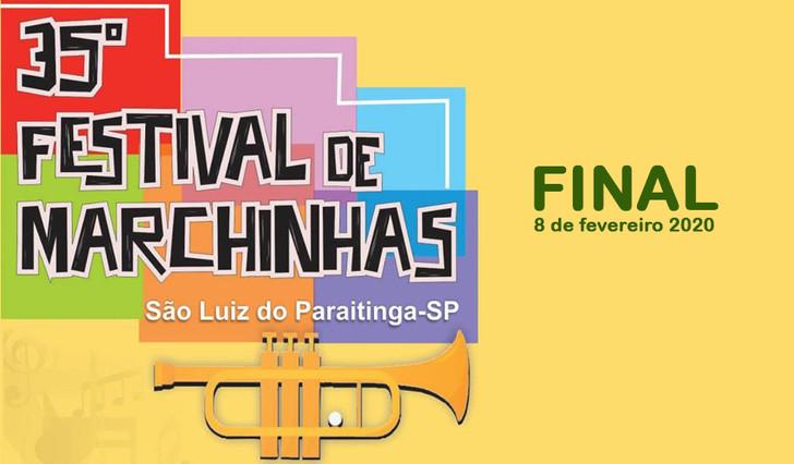 Finalistas do 35º Festival de Marchinhas de São Luiz do Paraitinga (2020)