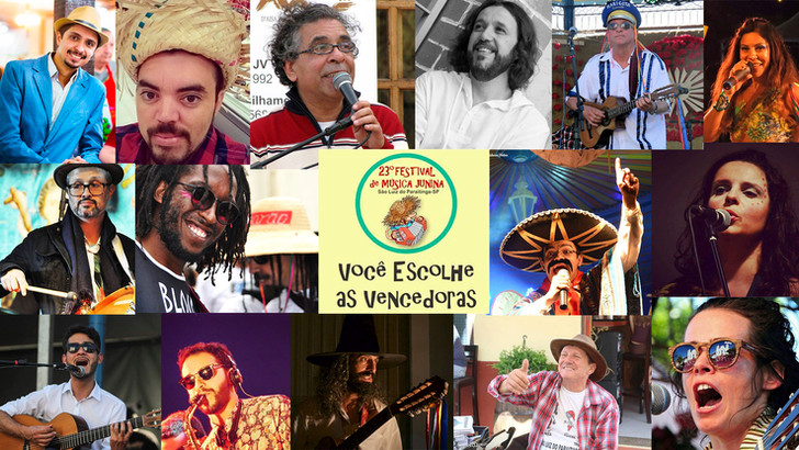 23º Festival de Música Junina de São Luiz do Paraitinga.