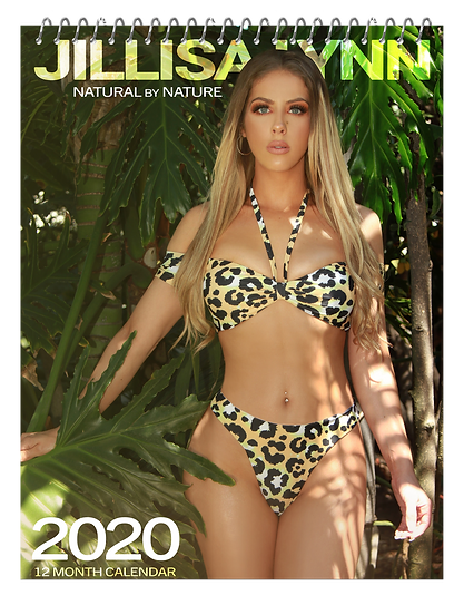 Jillisa Lynn - Natural by Nature 2020 Calender