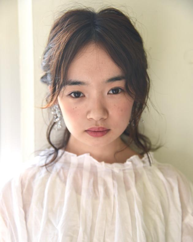 パーマスタイルでヘアアレンジ☆