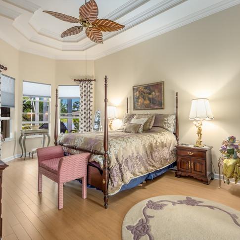 Master Bedroom of Estate Home