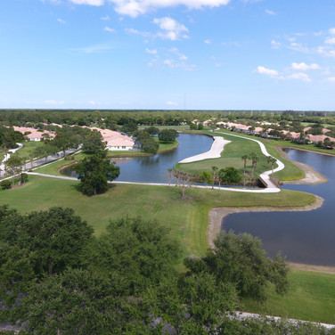 Aerials of Florida Club Golf Course