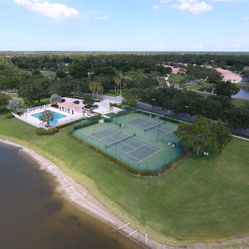 Community Pool And Tennis Courts