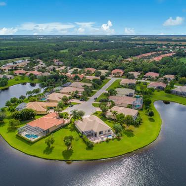 Aerial Of Galardia In The Estates