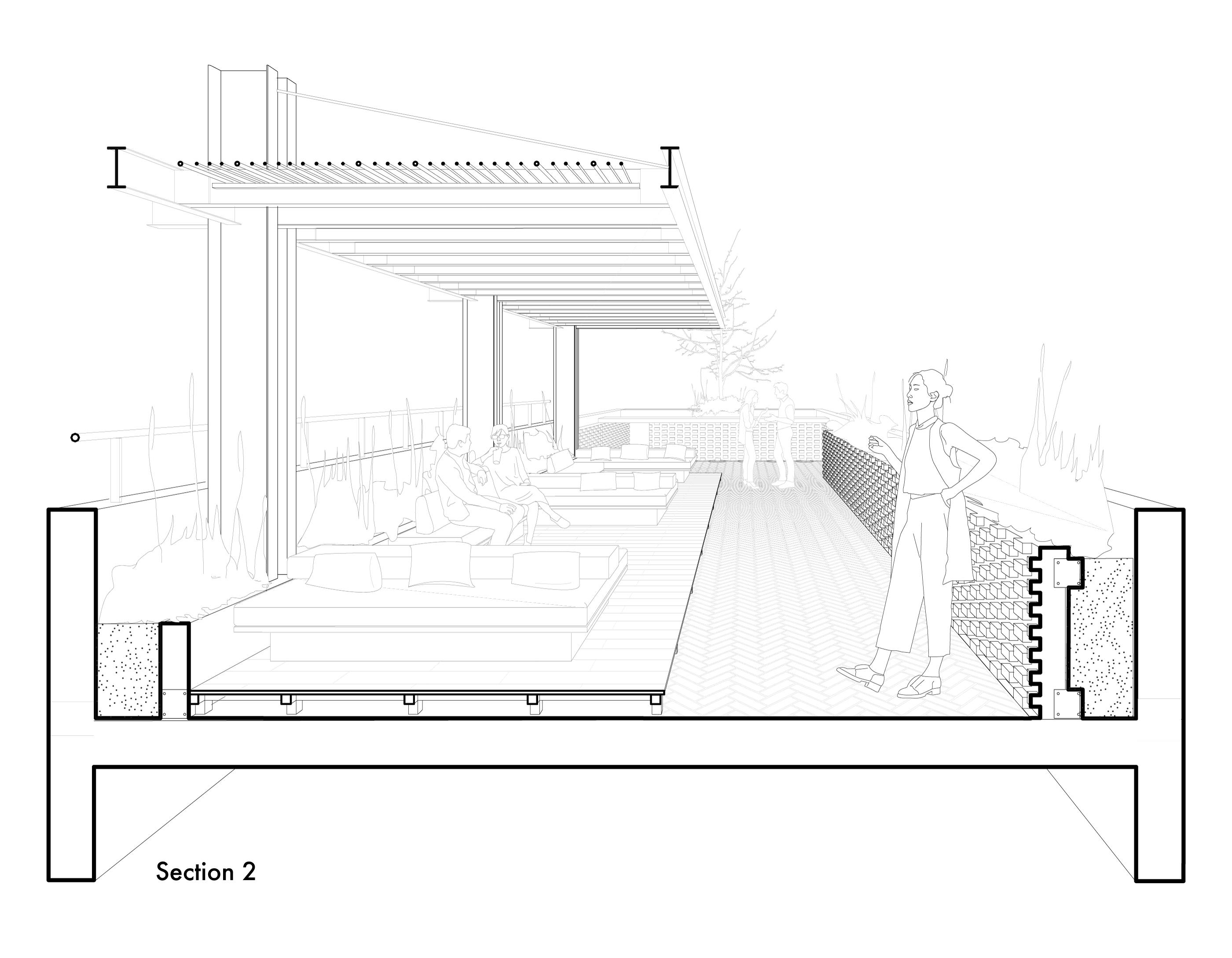 Toledo Rooftop Section 2