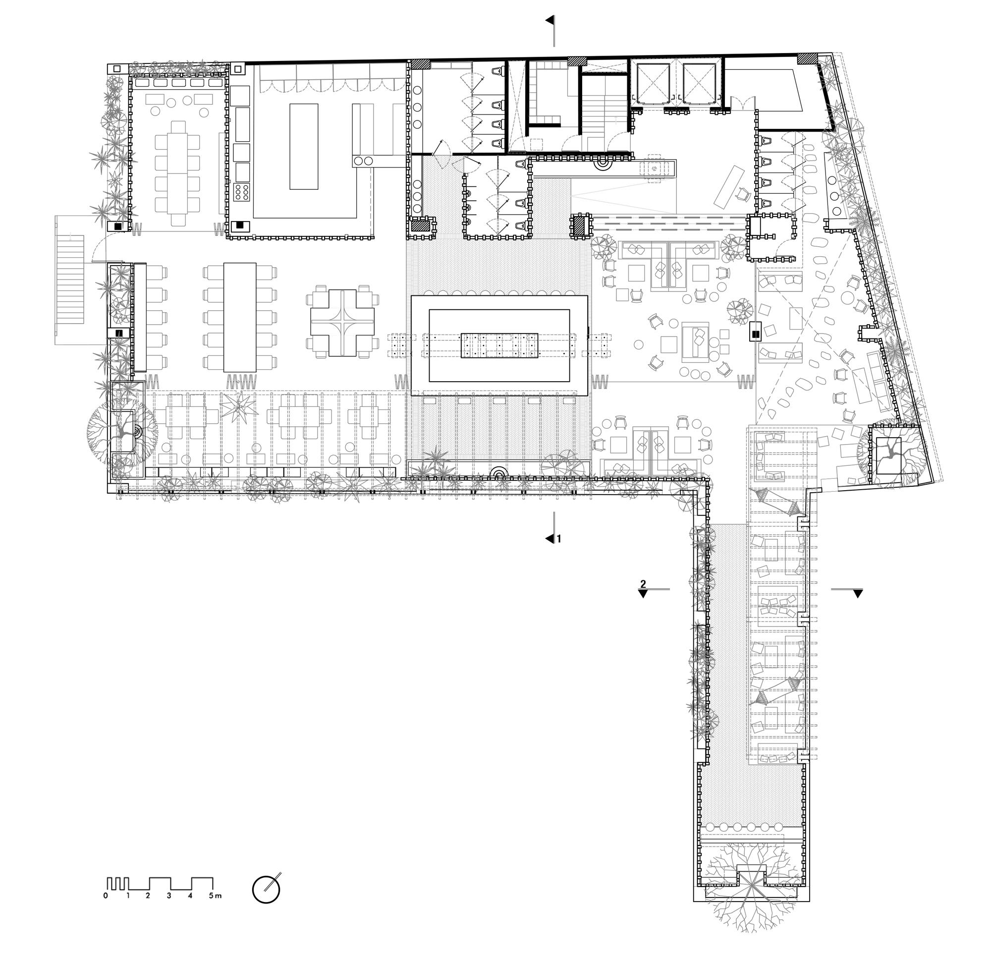 Toledo Rooftop Floor Plan