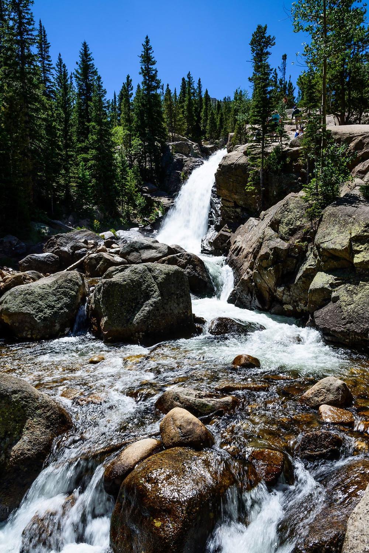 Alber falls, Colorado, Outdoor Hiking destination
