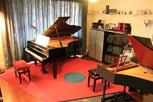Music studio, Vivaldi Academy of Music, Auckland,
