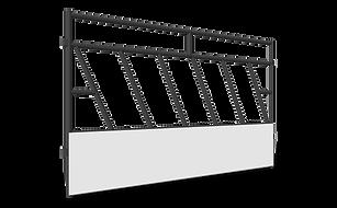 500 Series Slant Bar Feeder Panels ANGLE