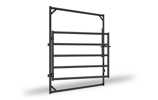 400, 500, 600 Series Gate In Frames ANGL