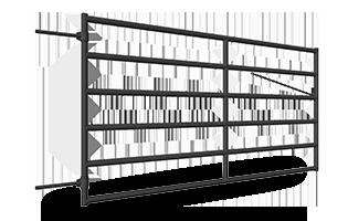 400, 500, 600 Series Corral Gates - Webs