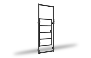Lemsco Series Alley Control Gate ANGLED